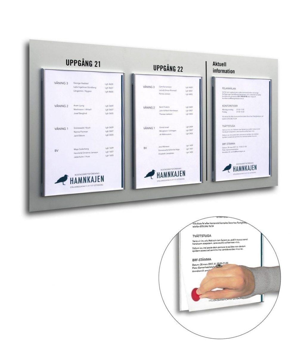 bulletin-board-replaceable-a4-printouts