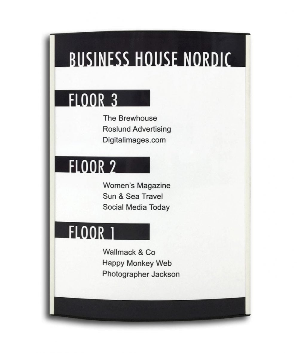 directory-sign-white-a3-size-curved
