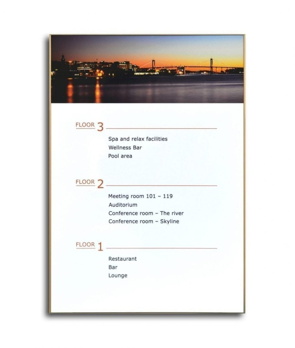 directory-sign-a3-size-gold-replaceable-insert