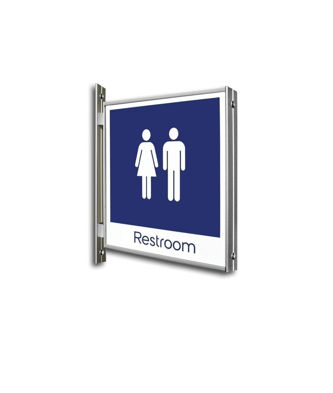 Flag sign double-sided, flat – FLEXI (FX477)
