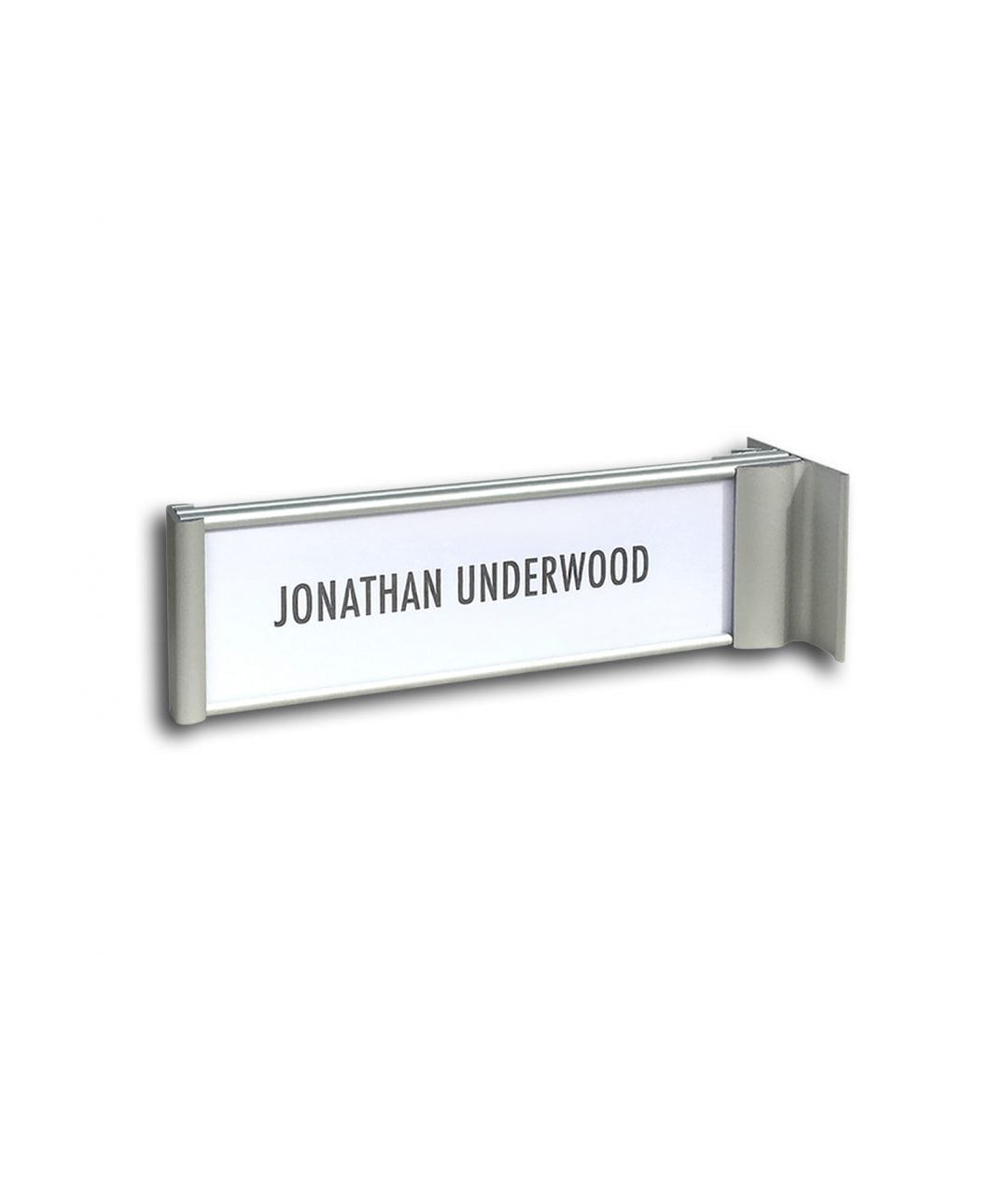 Flag sign / nameplate, double-sided – SLIM (SL841)