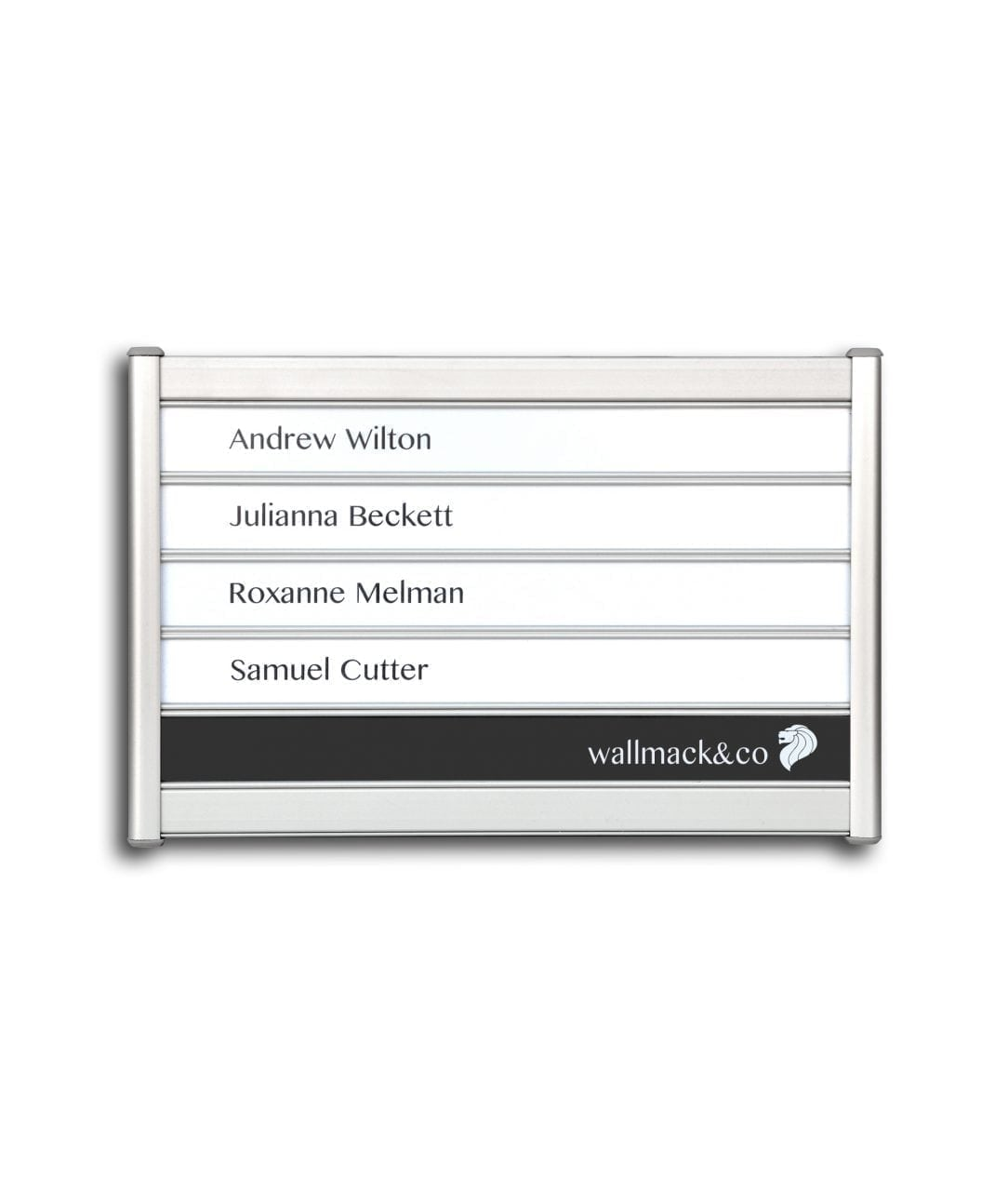 Flat nameplate, multi-row – SLIDE-DOWN (SD660)