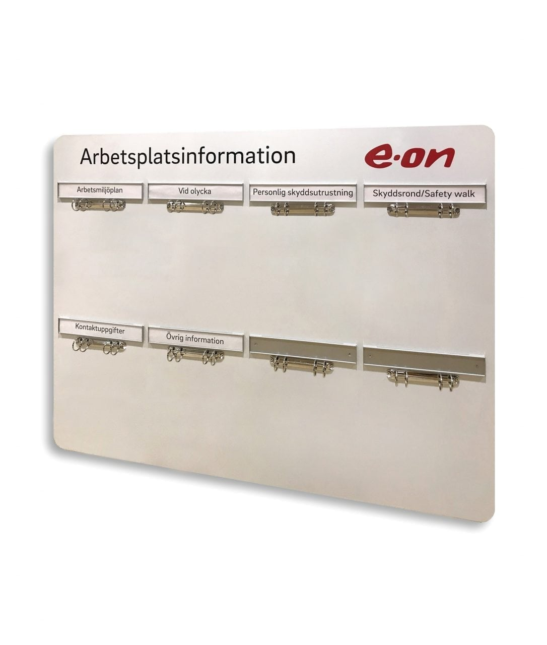 Information board, headers with replaceable paper inserts – SLIM (SL830)