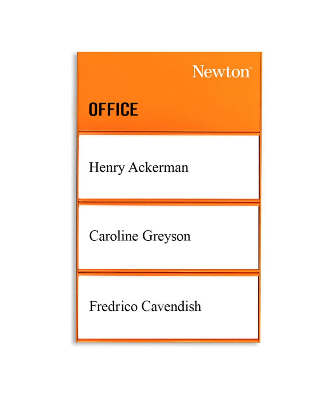 Room Sign / Name Plate (SL1410-ORANGE)