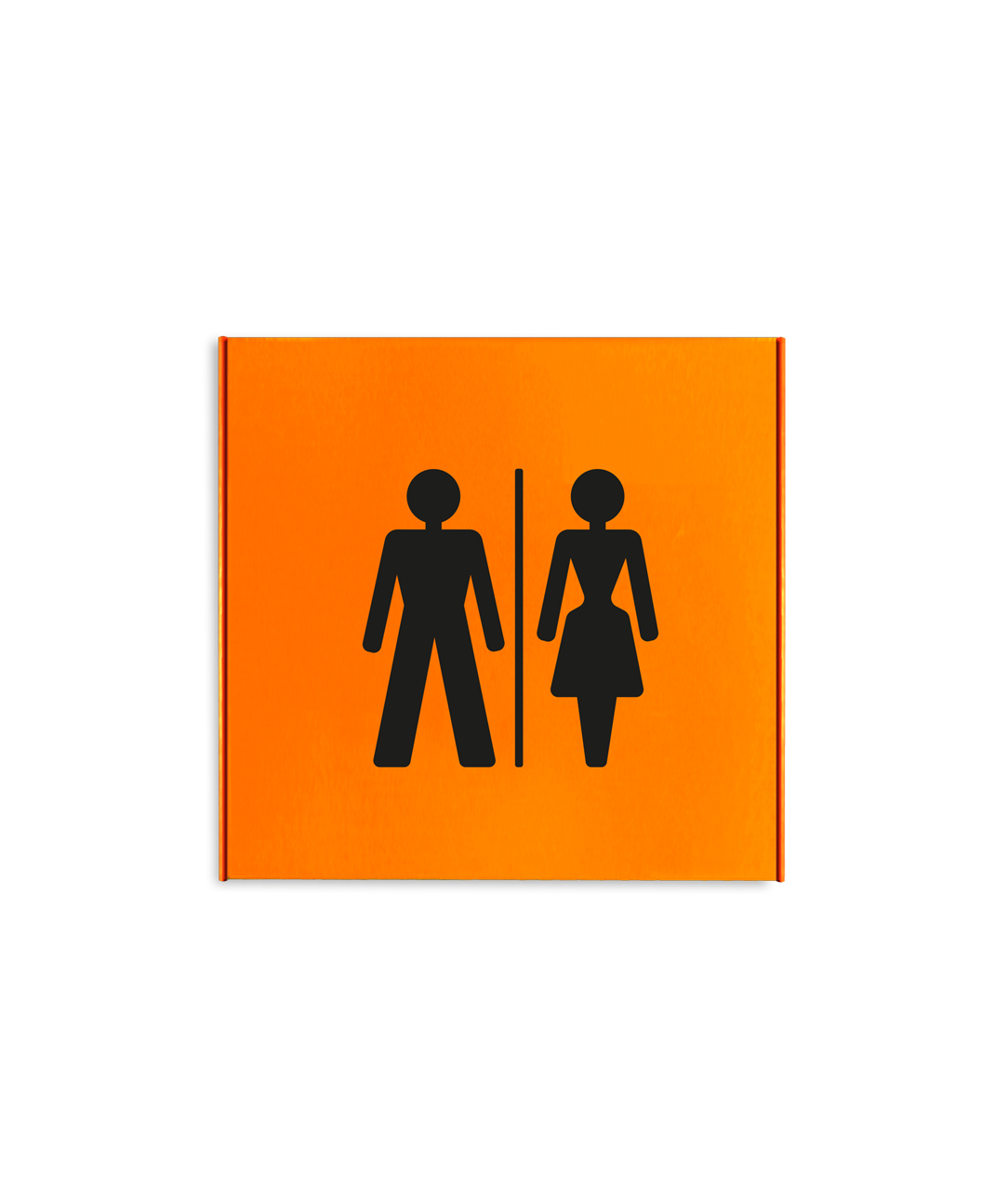 Restroom Sign (SL5150F-ORANGE)