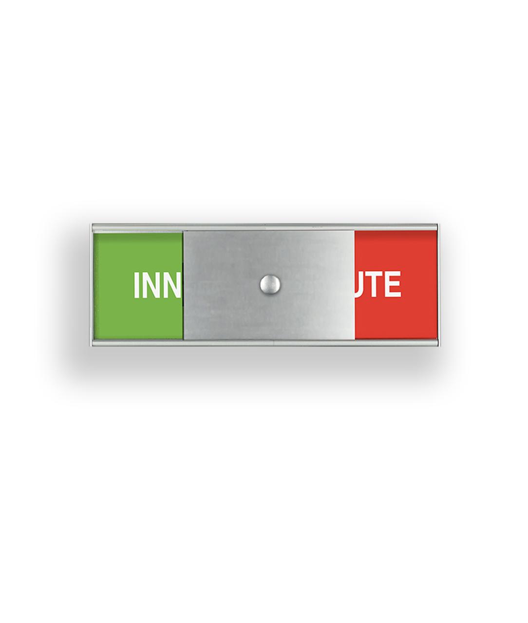 Plan Ledigt/Upptaget-skylt – SLIM (LU50150)